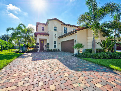 Jupiter Single Family Home Contingent: 147 Rudder Cay Way