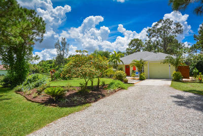 West Palm Beach Single Family Home For Sale: 13128 83rd Lane