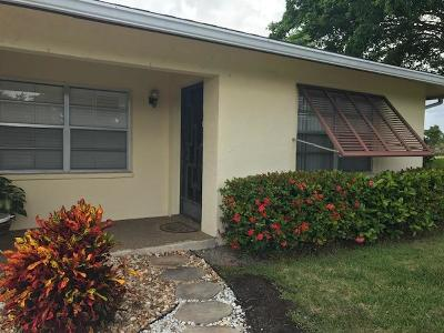 Boynton Beach Single Family Home For Sale: 5152 Kingswood Road
