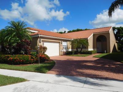 Boca Raton Single Family Home For Sale: 8165 Copenhagen Way