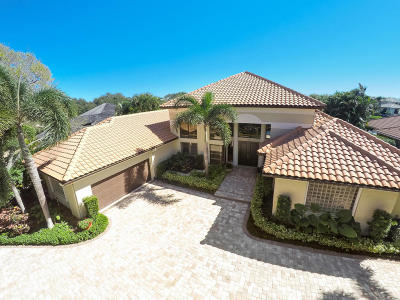 Jupiter FL Single Family Home For Sale: $2,950,000