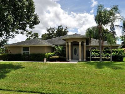 Port Saint Lucie Single Family Home For Sale: 1198 SE Petunia Avenue