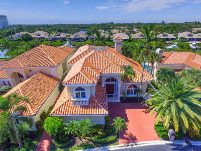 Jupiter Single Family Home For Sale: 3370 Bridgegate Drive