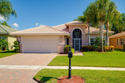 Boynton Beach Single Family Home For Sale: 8870 Via Tuscany Drive
