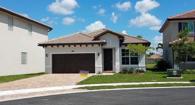Lake Worth Single Family Home For Sale: 5819 Abelina Lane