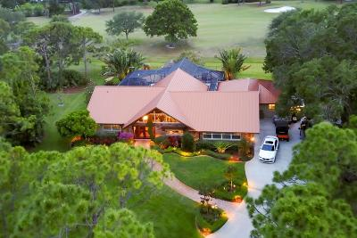 Palm City Single Family Home For Sale: 4932 SW Bimini Circle