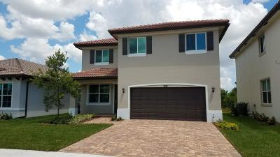 Lake Worth Single Family Home For Sale: 5813 Abelina Lane