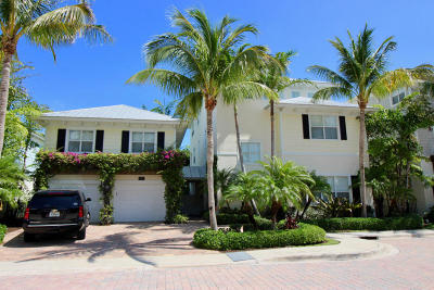 Jupiter Single Family Home For Sale: 107 Beachwalk Lane