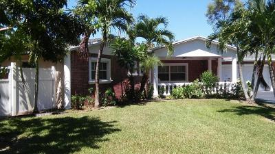 West Palm Beach Single Family Home For Sale: 6535 Katherine Road