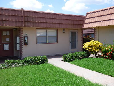 Broward County, Miami-Dade County, Palm Beach County Single Family Home For Sale: 134 Valencia F