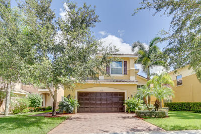 Boynton Beach Single Family Home For Sale: 8278 Emerald Winds Circle