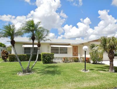 Broward County, Miami-Dade County, Palm Beach County Single Family Home For Sale: 3296 Avignion Court