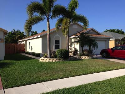 West Palm Beach Single Family Home For Sale: 5965 Azalea Circle