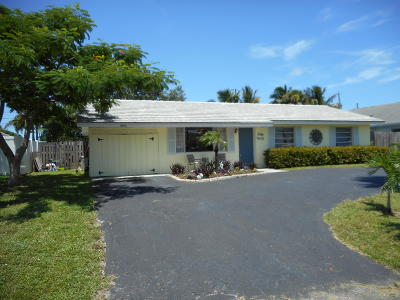 Palm Beach Gardens Single Family Home For Sale: 3569 Cosmo Street