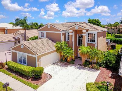 Boca Raton Single Family Home For Sale: 8815 Sonoma Lake Boulevard