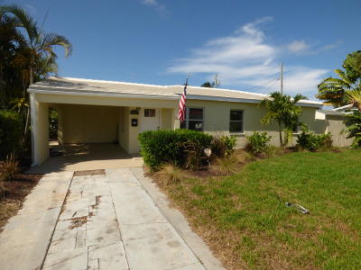 West Palm Beach Single Family Home For Sale: 839 El Vedado