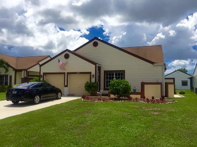 Boynton Beach Single Family Home For Sale: 5513 Pebble Brook Lane