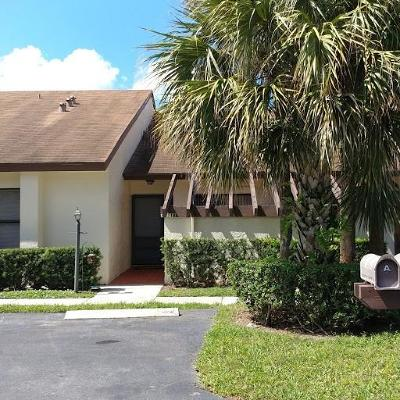 Lake Worth Single Family Home For Sale: 7551 Caesar Street #B