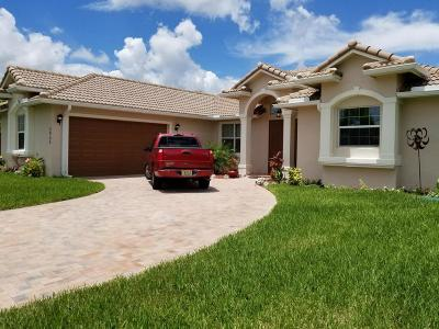 Port Saint Lucie Single Family Home For Sale: 5955 NW Brenda Circle