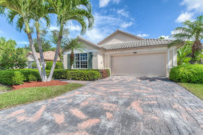 Palm Beach Gardens Single Family Home For Sale: 942 Augusta Pointe Drive