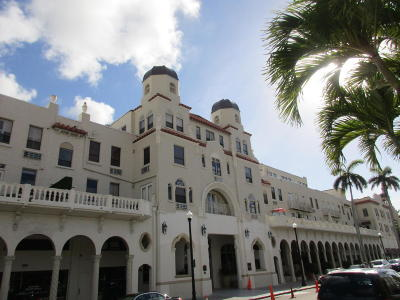 Palm Beach Condo For Sale: 235 Sunrise Avenue #Mz H, J,