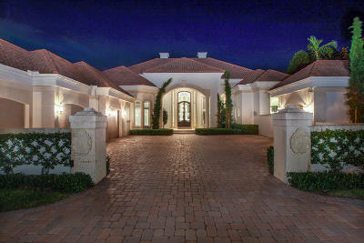 Jupiter FL Single Family Home For Sale: $4,995,000