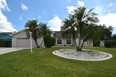 Port Saint Lucie, Saint Lucie West Single Family Home For Sale: 6839 Bronte Circle