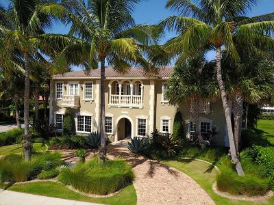 West Palm Beach Single Family Home For Sale: 2881 S Flagler Drive