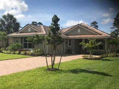 Fort Pierce Single Family Home For Sale: 2660 Conifer Drive