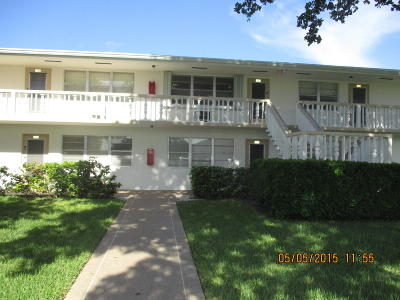 West Palm Beach Condo For Sale: 133 Bedford F #133