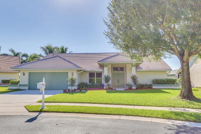 Broward County, Miami-Dade County, Palm Beach County Single Family Home For Sale: 6834 Wedgewood Village Court