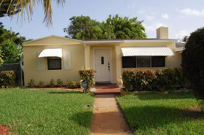 Lake Worth Single Family Home For Sale: 1501 S 12th Avenue S