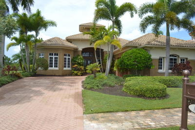 Port Saint Lucie Single Family Home For Sale: 128 SE Via San Marino