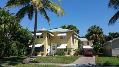 West Palm Beach Multi Family Home Contingent: 521 Kanuga Drive