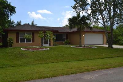 Port Saint Lucie, Saint Lucie West Single Family Home For Sale: 2071 SE Crystal Mist Street