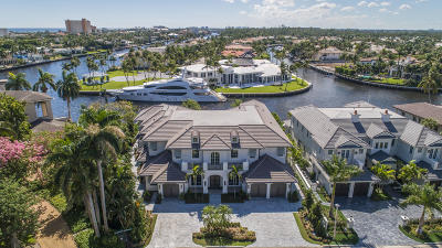 Boca Raton Single Family Home For Sale: 484 S Maya Palm Drive