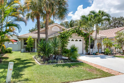 Boynton Beach Single Family Home For Sale: 4330 Manor Forest Way