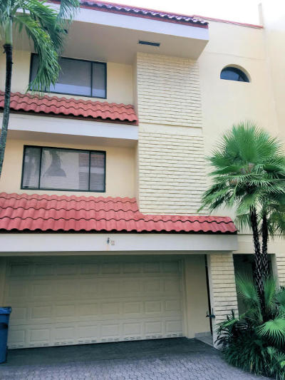 Fort Lauderdale FL Rental For Rent: $3,200