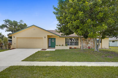 Wellington FL Single Family Home For Sale: $339,900