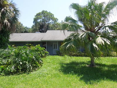 Fort Pierce Single Family Home For Sale: 803 French Creek Lane