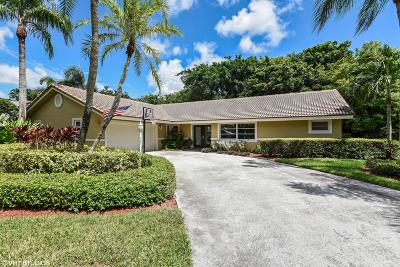 Broward County, Miami-Dade County, Palm Beach County Single Family Home For Sale: 4651 Turnberry Court