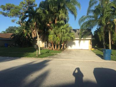 Royal Palm Beach Single Family Home For Sale: 207 S Parkwood Drive