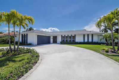 West Palm Beach Single Family Home For Sale: 2285 Palm Road