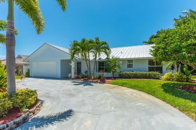 Tequesta Single Family Home For Sale: 40 Pine Hill Trail W