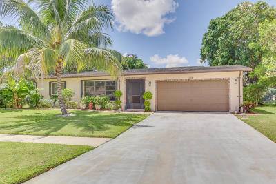 Delray Beach Single Family Home For Sale: 6308 Hitchin Post Way