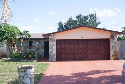 Lake Worth Single Family Home For Sale: 3558 Brooklyn Lane