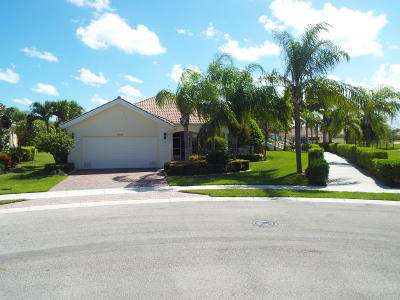 Wellington FL Single Family Home For Sale: $520,000