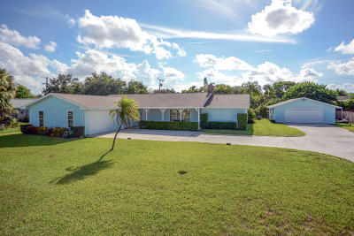Palm Beach Gardens Single Family Home For Sale: 11051 Monet Ridge Road