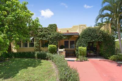 Lake Worth Single Family Home For Sale: 184 Yale Drive