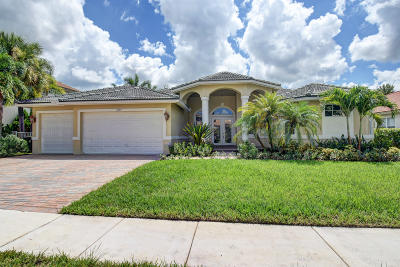 Wellington FL Single Family Home For Sale: $489,000